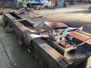 Капитальный ремонт станка слиткообдирочного РТ503