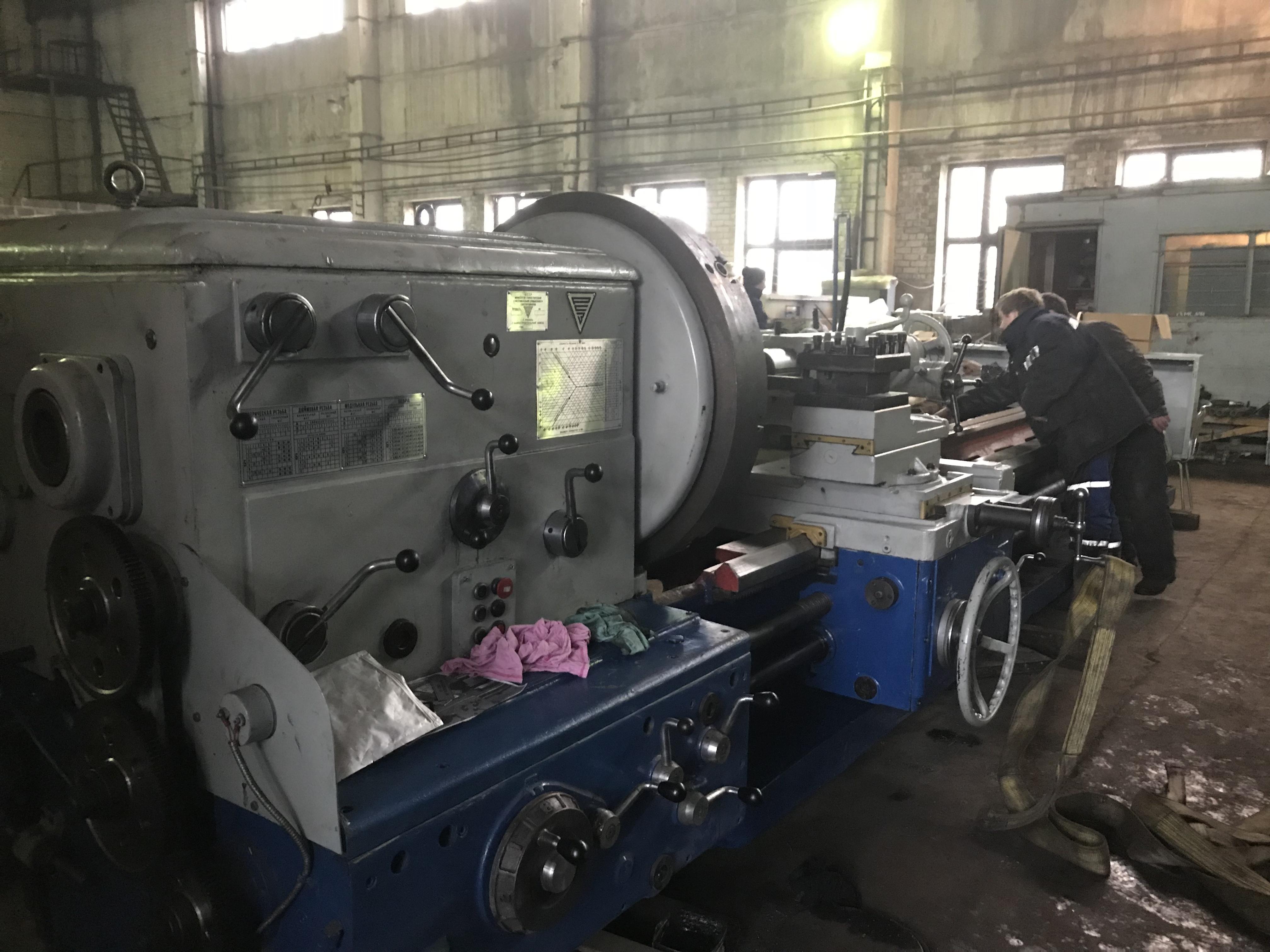 Выполнен капитальный ремонт токарно-винторезного станка 1М65 с РМЦ-5000