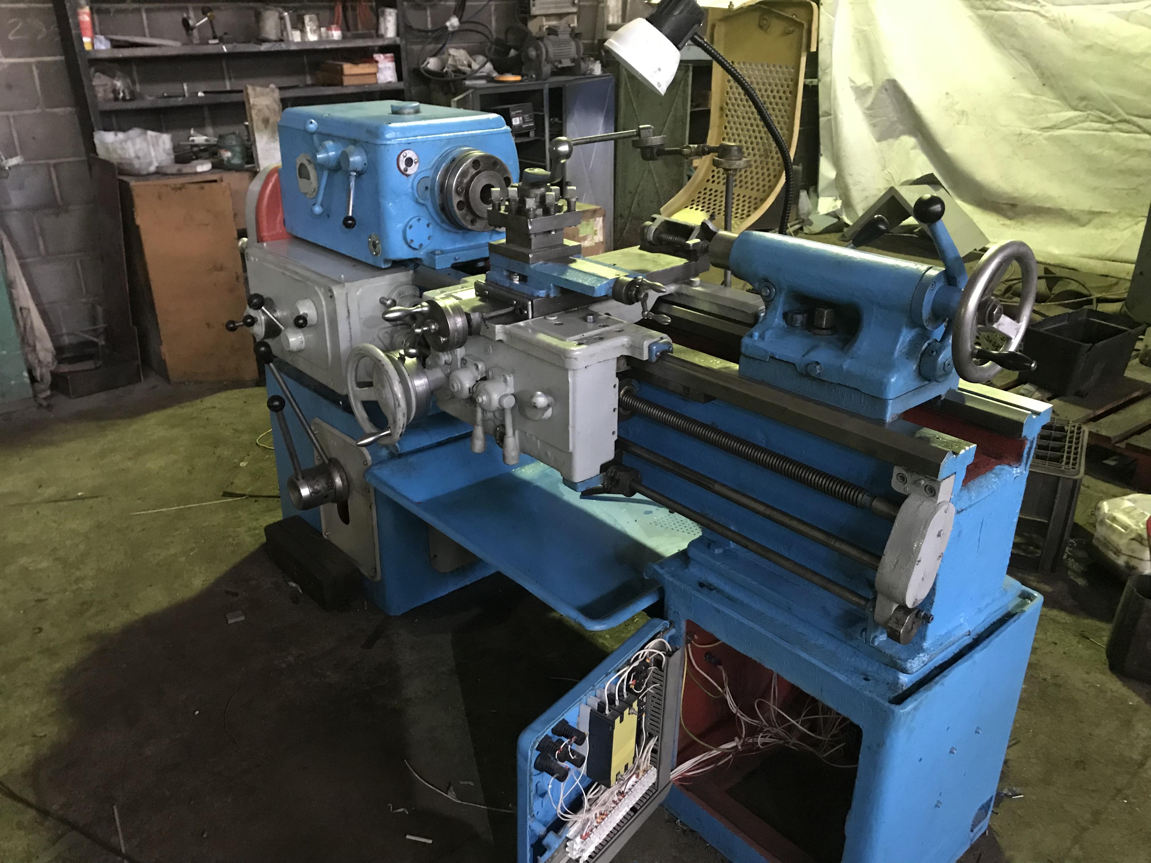 Выполнен капитальный ремонт токарно-винторезного станка 1А616