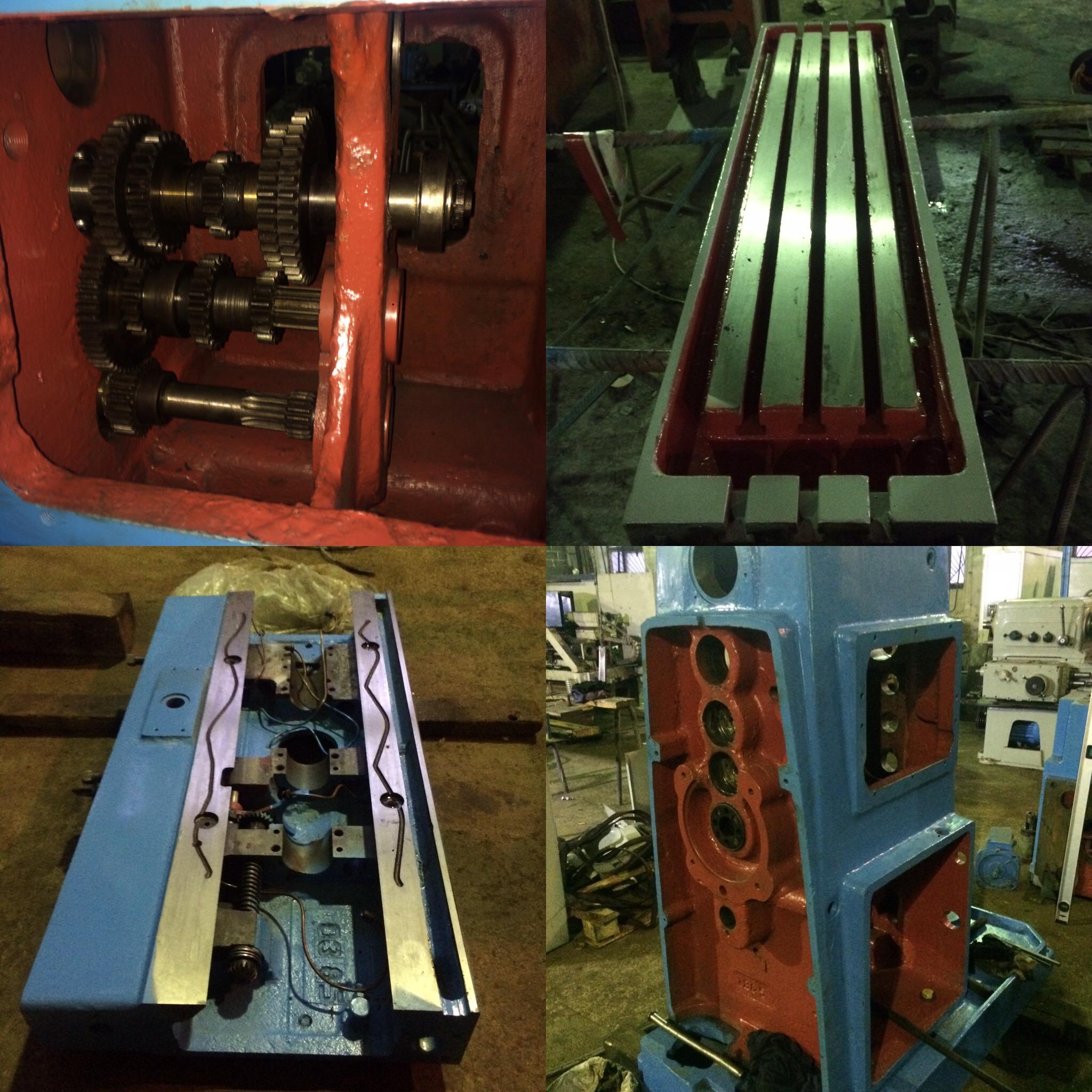 Направляющие токарных станков: как осуществляется их ремонт?