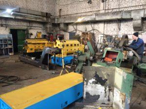 станки в работе